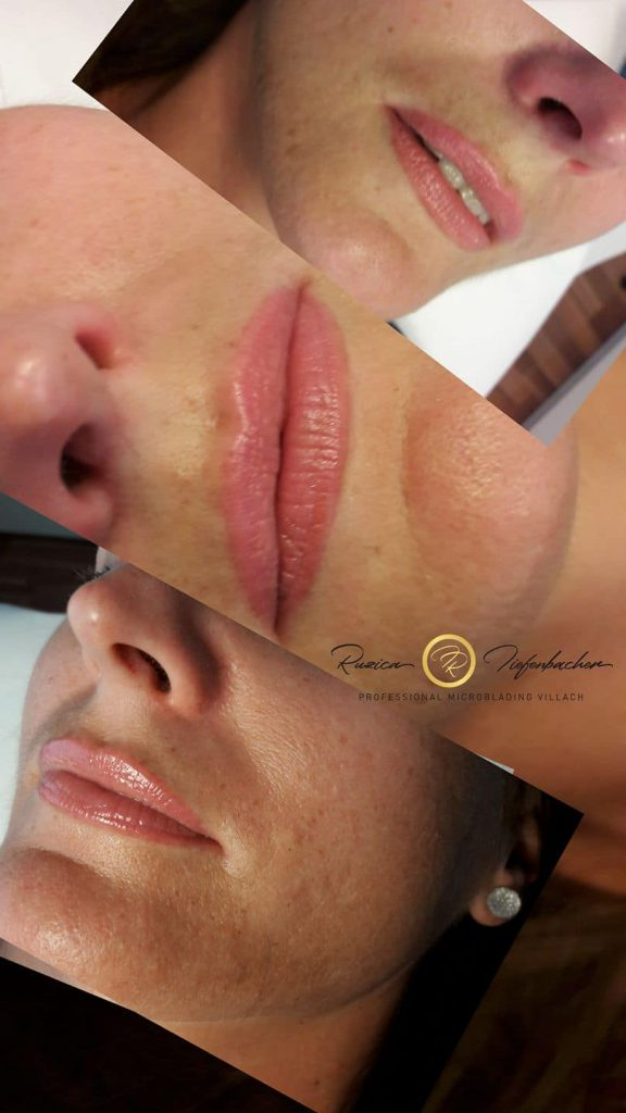 Permanent Make Up Lippen Erfahrung in Wien