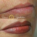 Permanent Make Up Lippen in Wien Vollschattierung