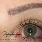 Augenbrauen Permanent Make Up Microblading in Wien
