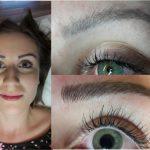Permanent Make Up Augenbrauen entfernen mit Microblading in Wien