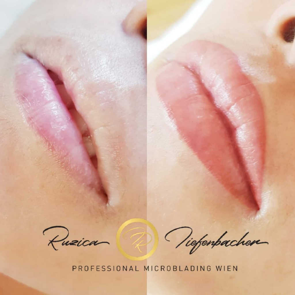 Lippen Permanent Makeup RT-Tiefenbacher in Wien