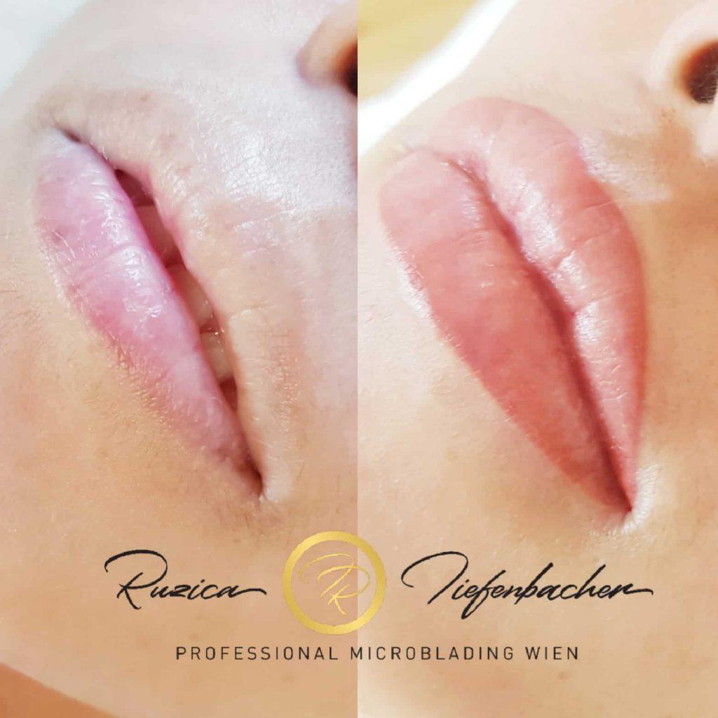 Lippen Permanent Makeup RT-Tiefenbacher in Wien