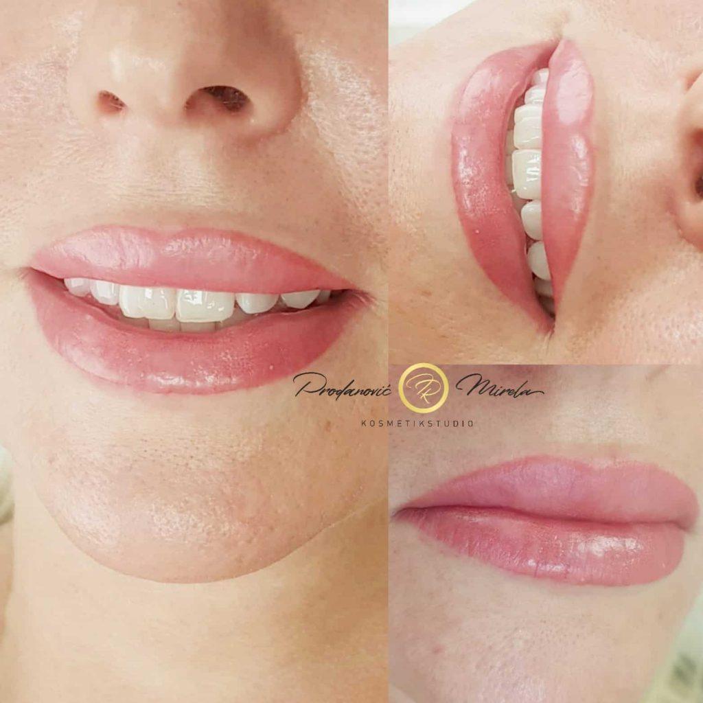 Permanent Makeup Lippen Wien