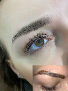 Permanent Makeup Korrektur
