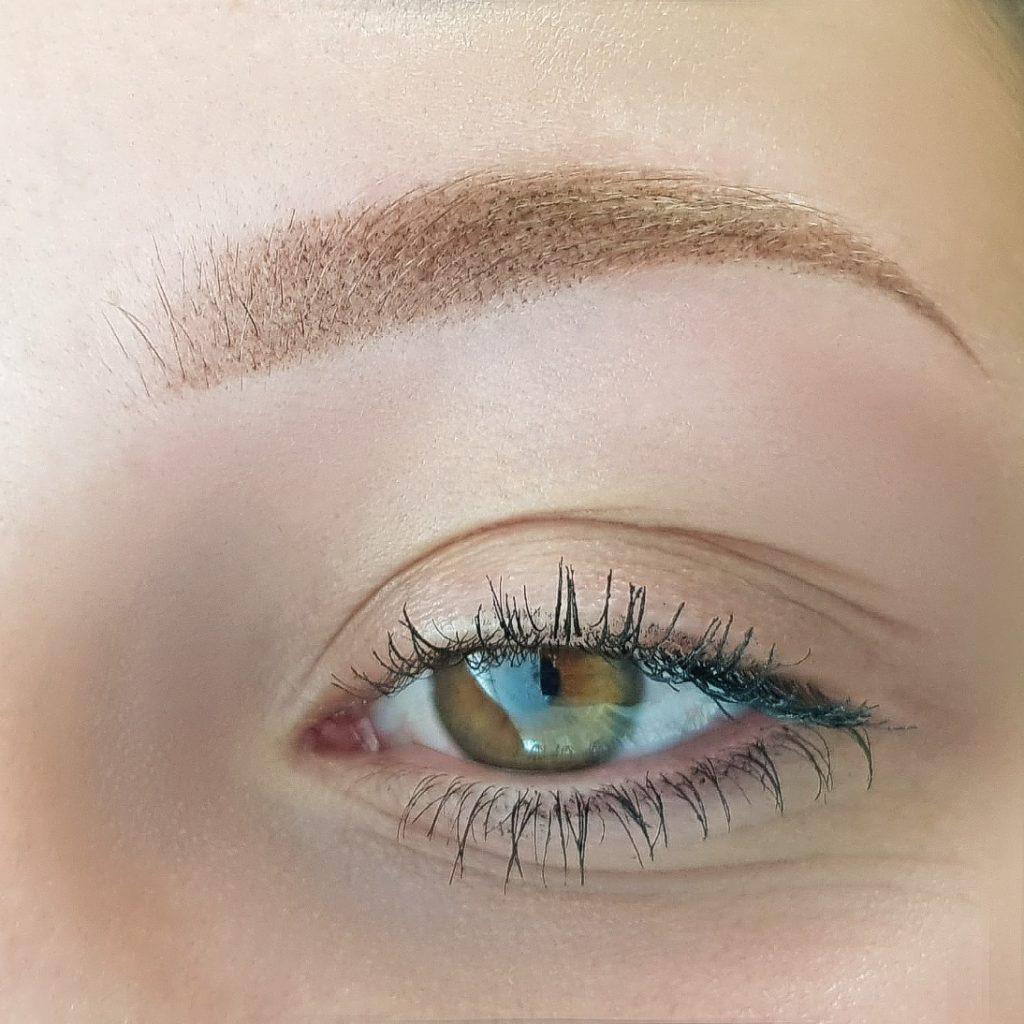 Puder Augenbrauen