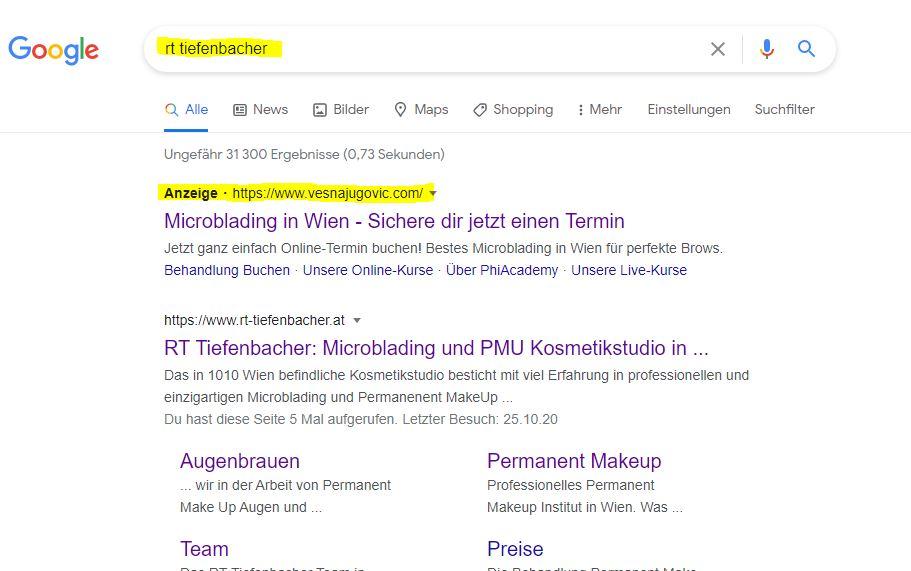 Erfahrung RT Tiefenbacher